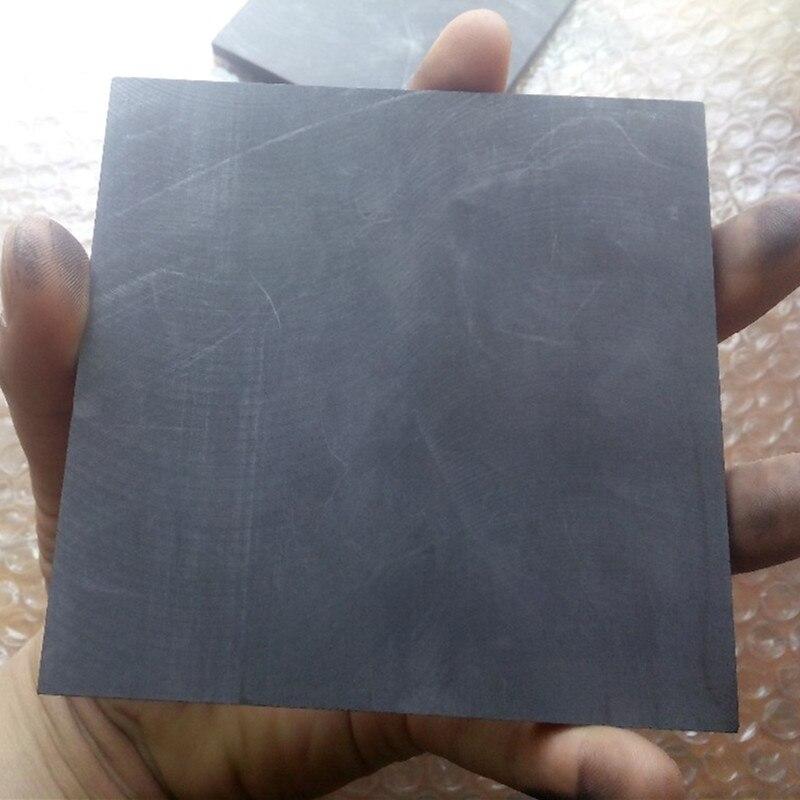 grafite puro alto edm placa de grafite elétrodo
