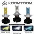 2pcs LED Headlight Kit H4 H1 H3 2PCS H7 H11 9005 9006 880 H13 9004 9007 9012 6000lm/pcs Car LED Headligts Bulb