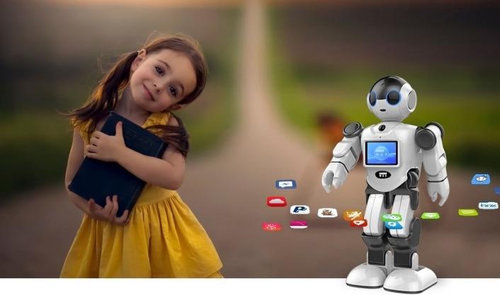 Новый креативный инновационный робот игрушка Поддержка Дома Монитор бесплатное приложение для общения - 2