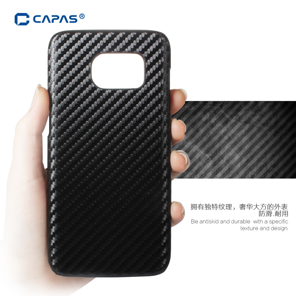 the latest d7613 3eed9 US $6.29 |for Samsung Galaxy S7 Edge Case Holster PC Carbon Fiber Checked  Woven Grain Protector Skin Case for Galaxy S7 Edge Cover Cases on ...