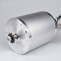 0.2 Electric bicycle MY1020 4900RPM BLDC 72V 3000W Brushless Motor for E Bike Motorcycle 2 wheel balance scooter