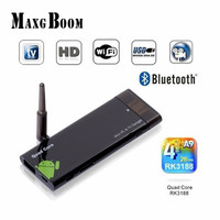 TV Dongle CX919 Quad core rockchip rk3188 t 2 GB 8 GB CX-919 Antenne externe CX 919 Mini PC Android 4.4.2 Kitkat bluetooth WiFi