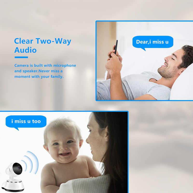 INQMEGA умная Беспроводная ip-камера, домашняя Wi-Fi камера системы безопасности, Аудио запись наблюдения, детский монитор, Мини CCTV, камера ночного видения