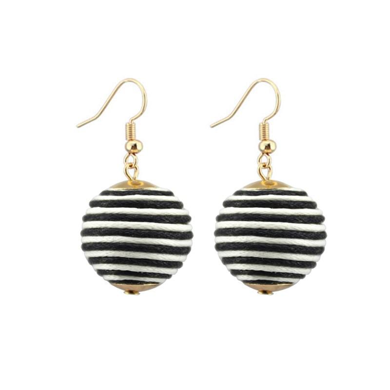 Pom Seed Beaded Orb Statement Dangle Drop Earrings For Fashion Women Jewelry In From Accessories On Aliexpress Alibaba
