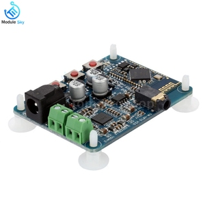 Image 1 - PAM8610 Bluetooth 4.0 オーディオアンプボードプレーヤーモジュール DC12V 2 × 10 ワットデュアルチャンネルステレオハイファイスピーカー Bluetooth アンプ