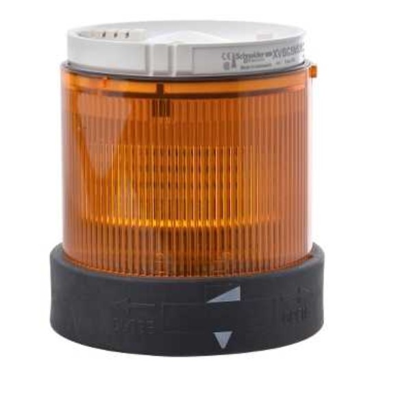 XVBC2B5 Light Unit - Steady Light - Orange - 24 V AC DC