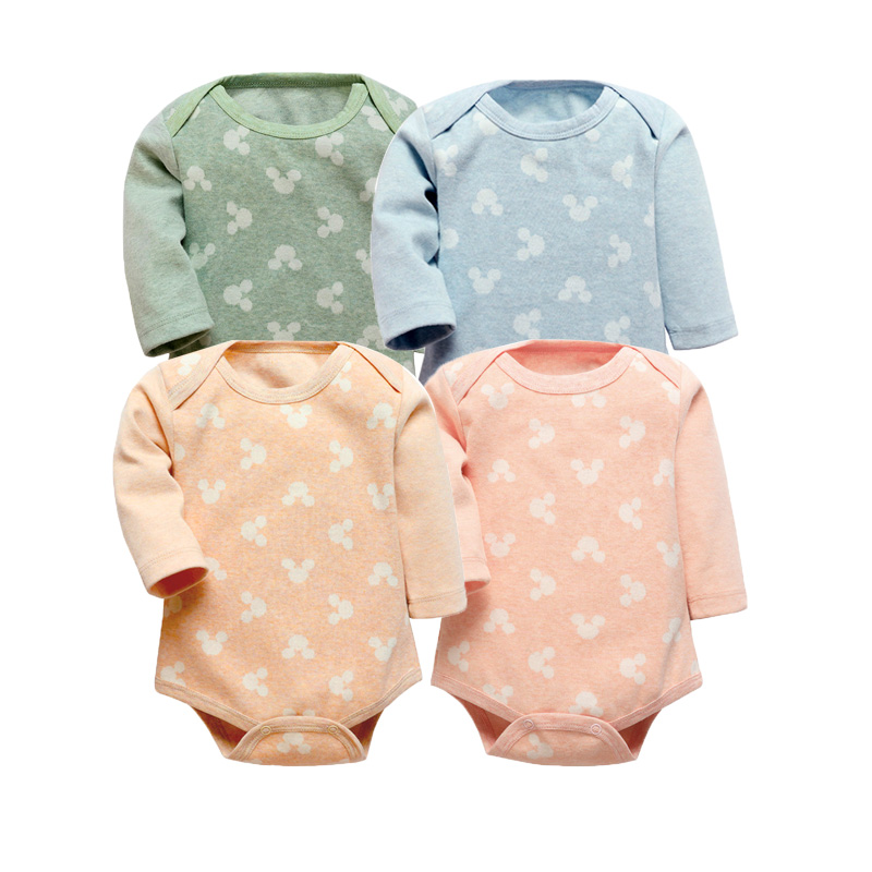 Baby Bodysuits 2 Pieces Baby Girls Boys Cotton Clothes Autumn/Winter Long Sleeve Warm Clothes New born baby Ropa Baby Jumpsuits autumn winter baby hats new fashion children warm ball hat double color boys and girls cotton caps beanies baby knitted hat
