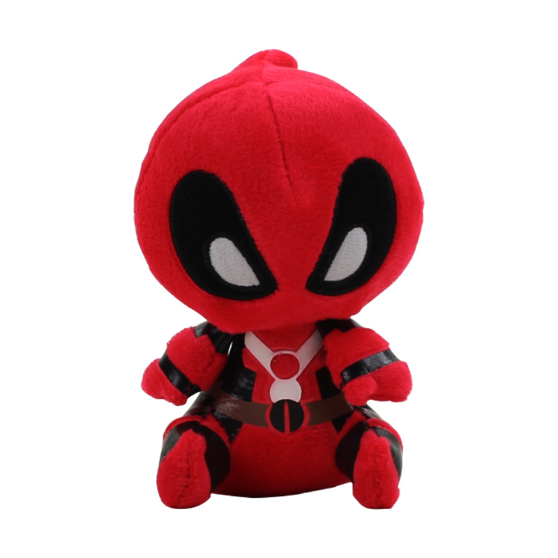 12cm Deadpool Plush Toys Stuffed Soft Plush Doll Toys Gifts For Kids Free Shipping