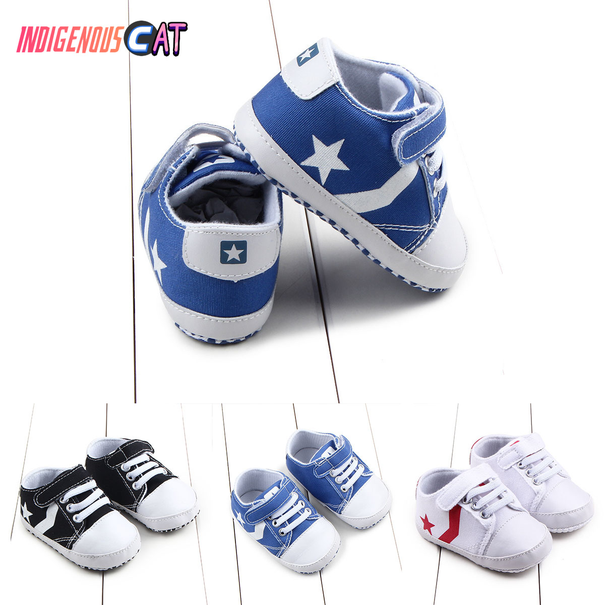 2019 New Spring Fashion Toddler First Walker 0-1 Years Old Baby Shoes Boys Sneaker Prewalker Canvas Kawaii