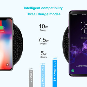 Image 4 - Fast Wireless Charger 10w Nillkin for 2 Phone Qi Wireless Charging Pad for iPhone XS/X/8 Mi 9 For Samsung S8/S9/S10 Gift adapter