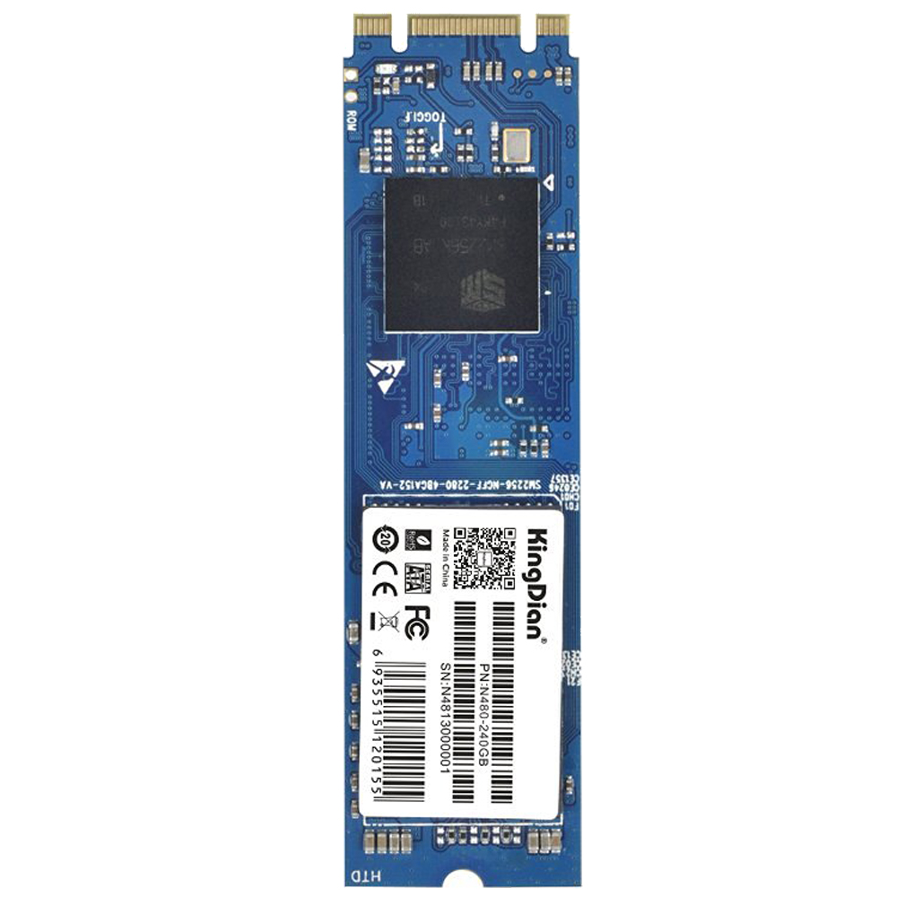 M.2 NGFF Solid State Drive 256GB M.2 2242 Disk for Desktop PCs and MacPro (N480 80mm) N480 240GB