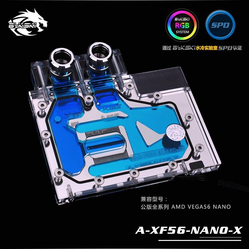 Bykski A-XF56-NANO-X GPU Bloc De Refroidissement à Eau pour AMD RX VEGA 56 Nano Frontière Édition