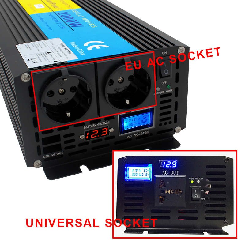 HTB1rjR ax rK1RkHFqDq6yJAFXaM - UPS inverter pure sine wave 2000W 4000W DC 12V/24V to AC 220V-240V LCD Inverter+Charger & UPS,Quiet and Fast Charge power supply