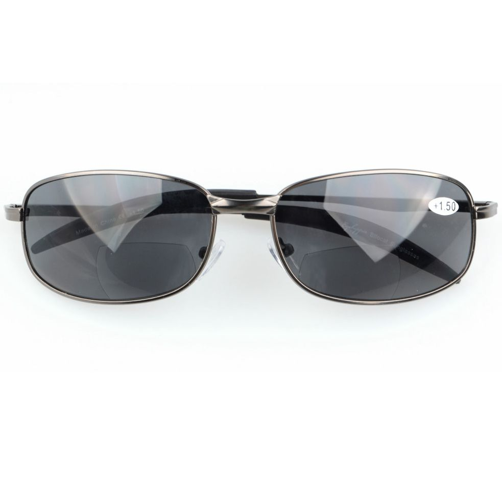 b12338ed5b8b S15002 Bifocal Eyekepper Metal Frame Outdoor Bifocal Sunglasses +1.0/+1.5/+2.0/+2.5/+3.0-in  Reading Glasses from Apparel Accessories on Aliexpress.com ...