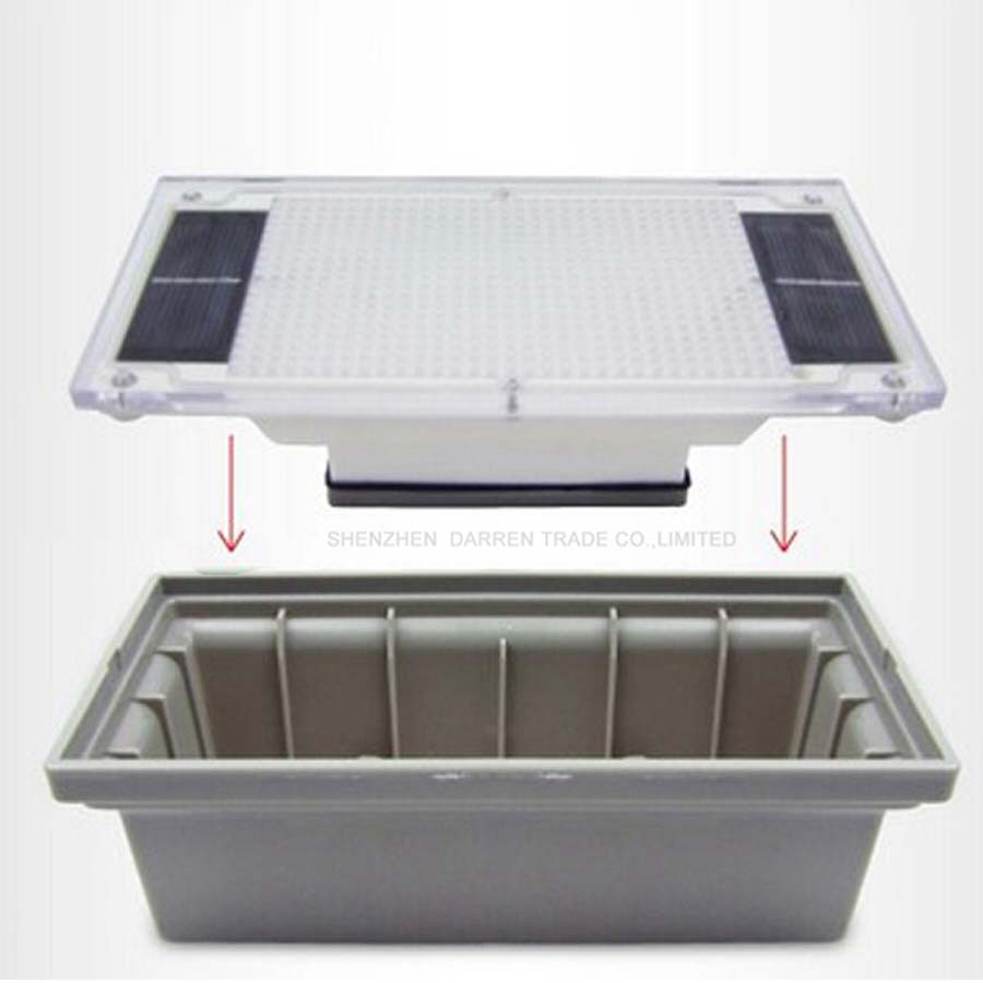 Waterproof Outdoor Recessed Paver solar Light for Outdoorsolar light outdoor solar led lamp garden light 16PCS