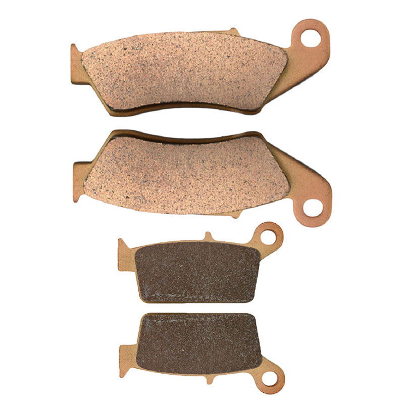 Motorcycle Parts Front & Rear Brake Pads Kit For Yamaha WR450F YZ125 YZ250 R/S/T/V/W 2T YZ450F WR250R WR250X 2008-2013 steel motorcycle brake pads for yamaha jym90 2 pcs