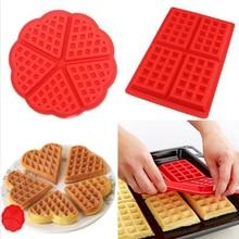 Silicone Cake Mould Waffle Mould Bakeware DIY Modle Kitchen