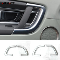Interior Door Handles Armrest Covers For Land Rover Discovery Sport 2015 2016 2017 ABS Matte Trim Stickers Frames 4Pcs AITWATT
