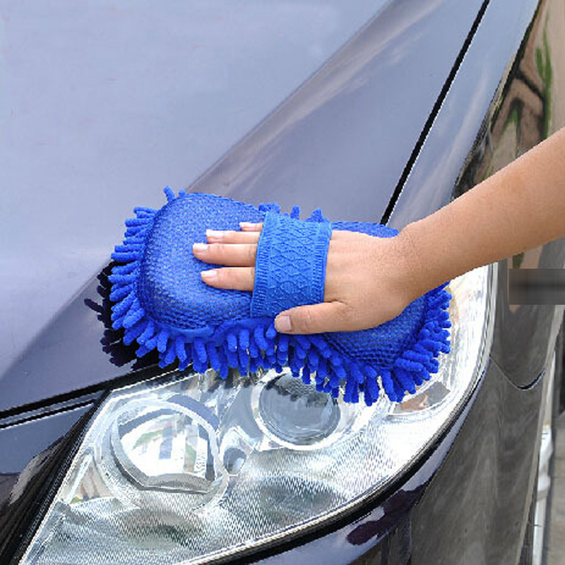 Car Window Body Wash Cleaning Glove Soft Wool Car Motor Motorcycle Brush Washer Auto Car Care Cleaning Tool Brushes Accessories