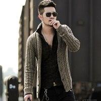 Mens sweaters male V neck winter Cardigan men Knitwear Sweater Slim Casual coat brand cardigan masculino 2018 fashion autumn