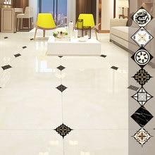 20Pcs waterproof 3D Floor Stickers pvc Self Adhesive Tiles Art Diagonal Ceramic Wall For Living Room Kitchen home decor