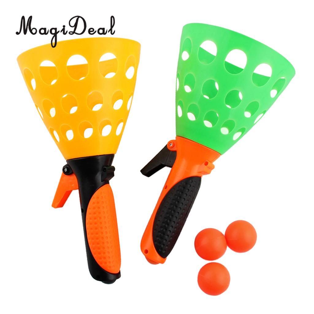 MagiDeal 1Set Pop and Catch Game Play Toys Outdoor Activity Yard Garden Park Fun Sports Game for Kids Children