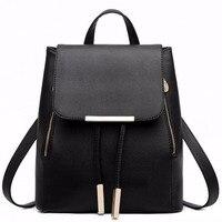 PU Leather Backpack School Bag Student Backpack Women Travel Bag 1STL
