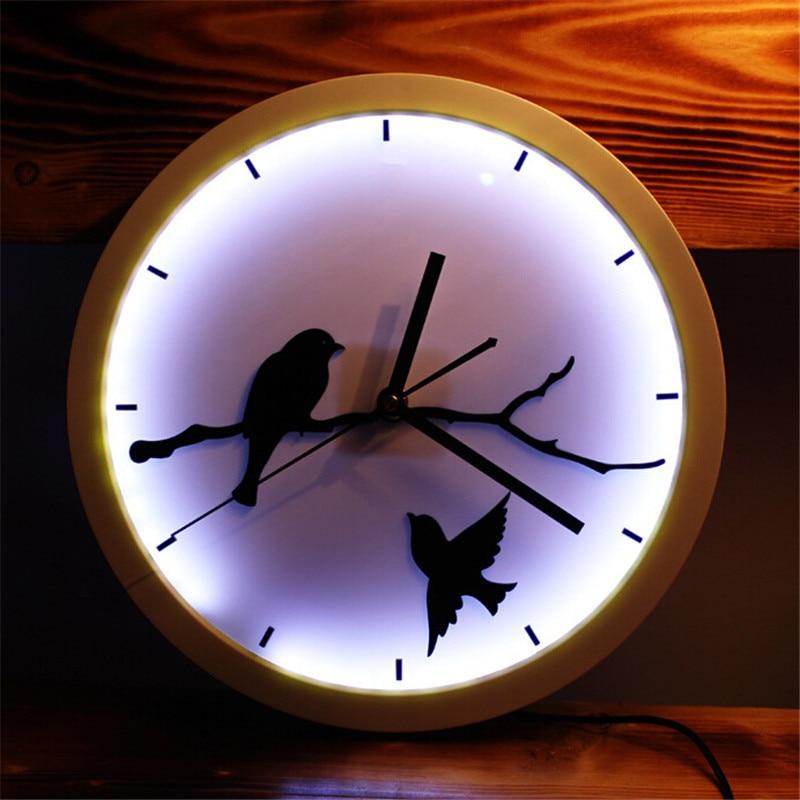 Popular Lighted Clocks Wall-Buy Cheap Lighted Clocks Wall