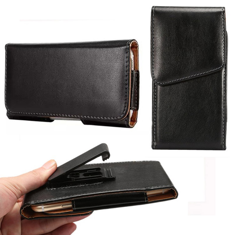Flip Belt Clip Holder Wallet PU Leather case Cover for