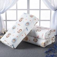 Protector de colchón a prueba de agua Protector de pañales para bebé Cojín cambiador de pañales Recién nacido Estante de algodón Estampado de látex Muda Fraldas Estera de orina