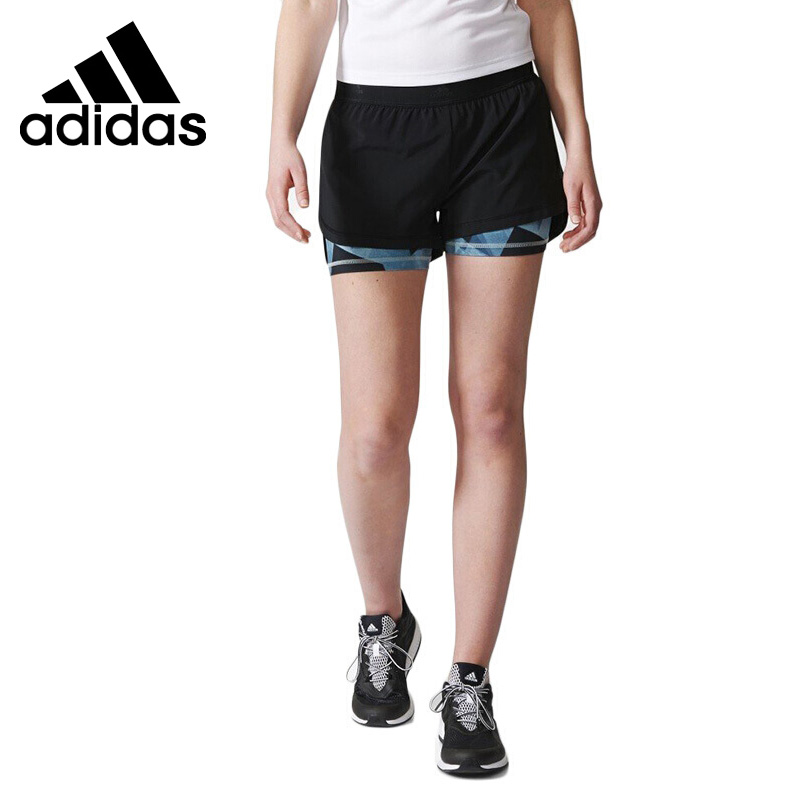 Original New Arrival 2017 Adidas 2IN1 AOP SHORT Women's Shorts Sportswear original new arrival adidas women s shorts sportswear