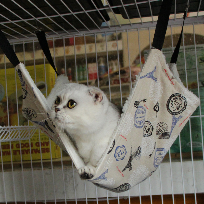 pet rat hammock  ferret  rabbit  chinchilla cat cage hammock small dog  fort cage hanging bed cover in houses kennels  u0026 pens from home  u0026 garden on     pet rat hammock  ferret  rabbit  chinchilla cat cage hammock small      rh   aliexpress