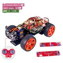 Raspberry Pi Inteligentny Robot Car Kit-PiCar SunFounder-S Blok Graficzny Wizualnej Języka Programowania Na Bazie Elektroniczne Zabawki