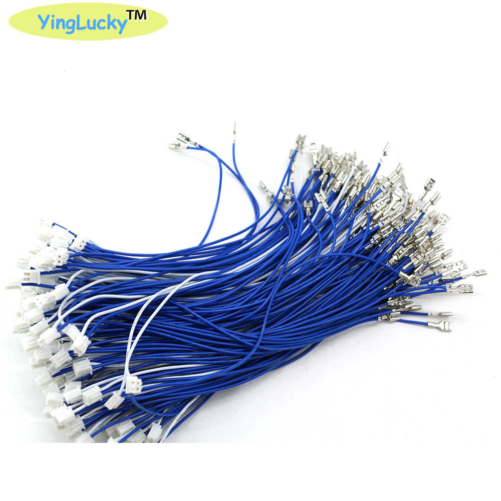 20PCS 2.8mm 4.8mm terminal female connector with 2 pin plug Cable joystick /button wires For Arcade Game Machines Accessories
