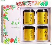 Chinese Nature Fresh Oolong Spring Green Tea Tieguanyin Biluochun Jasmine Flower Maojian Tea Gift Box Food