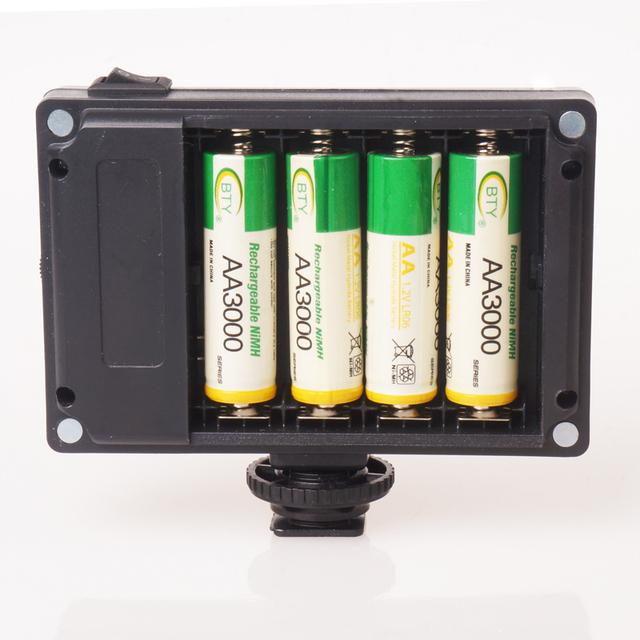Ulanzi Mini LED Video Light Photo Lighting on Camera Dimmable LED Lamp for Canon Nikon Sony Camcorder DV DSLR Youtube