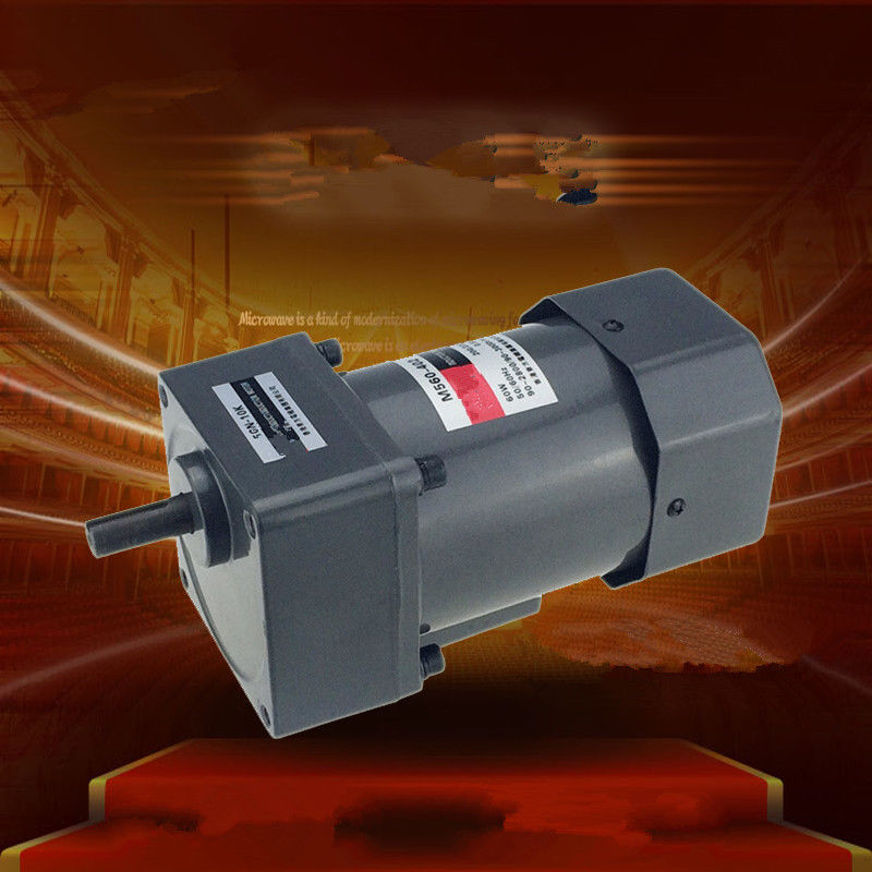 Three-Phase 220V 380V Single Phase 220V AC Vertical Micro Gear Motor Governor 60W M560 Adjustable speed High Torque