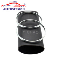 For Mercedes W211 S211 Rear Rubber Sleeve with rings Pillows Air Spring Air Suspension Repair Kit Bladder 2113200725 2113200825