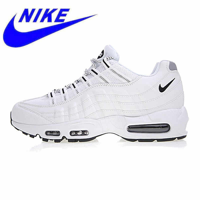 top fashion ed795 3e6e0 Breathable Nike Air Max 95 Men s Running Shoes, Outdoor Sneakers Shoes,White,  Wear