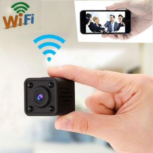 WiFi Camera Mini Wireless IP Camera Network Nanny Cam HD 1080P Home Security Camera Cube Video Surveillance IR Night Vision DVR