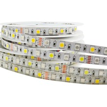 LED Strip 5050 RGBW Flexible LED Light DC12V 60LED/m Waterproof RGB+White / RGB+Warm White 5m/lot  Indoor Outdoor for decoration