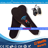 NEW BEST GIFT Electric Heated Insole For Women Men Shoes Boots Pad With Remote Control Black