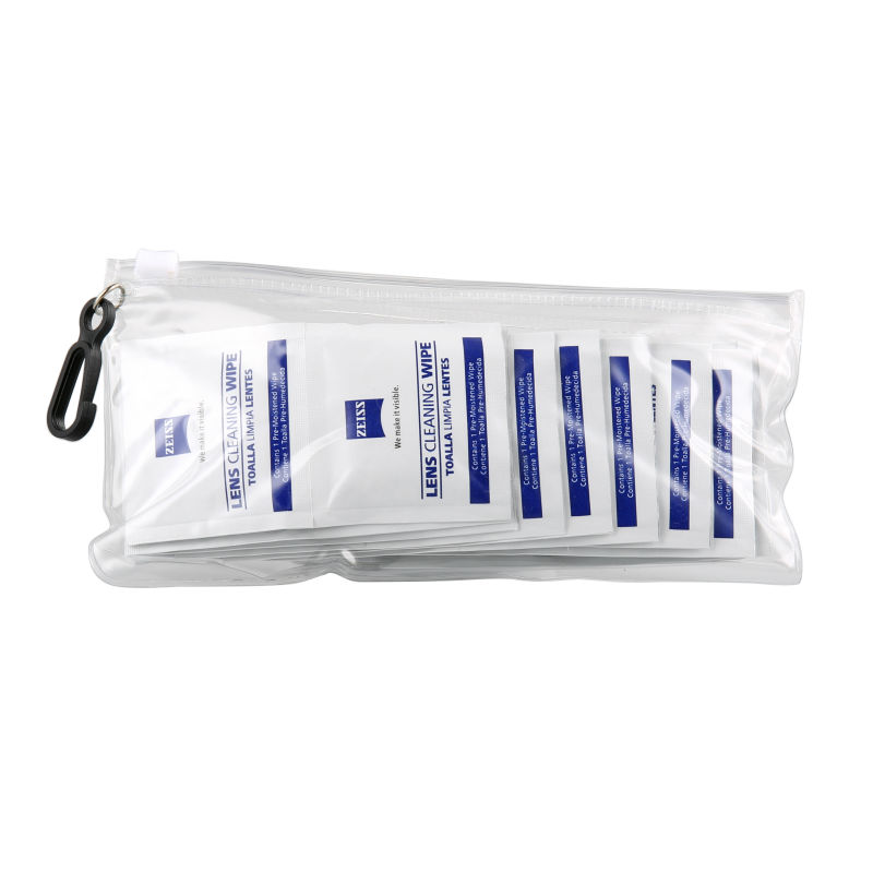 Фотография 20pcs zeiss camera lens phone lcd screen dust removal wet cleaning wipes paper set optical cleaning fluid free carrying pouch