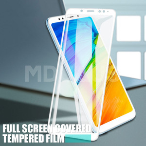 Image 5 - 9D Tempered Glass on the For Xiaomi Redmi 5 Plus S2 4X 5A Redmi Note 4 4X 5 5A Pro Screen Protector Protective Glass Film Case