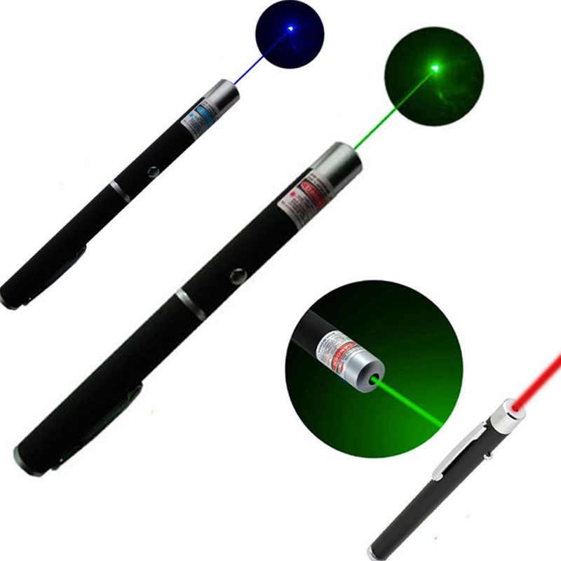Led פנס לייזר עט אור לפיד עוצמה Linterna 5 mW ירוק כחול אדום רפואי העזרה הראשונה הוראה בבית הספר ציד פנס
