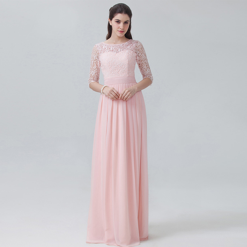 Plus Size Bridesmaid Dresses Sleeves Promotion-Shop for ...