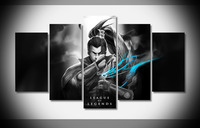 7236 league of legends Poster wood Framed Gallery wrap art print home wall decor Gift wall picture Already to hung digital