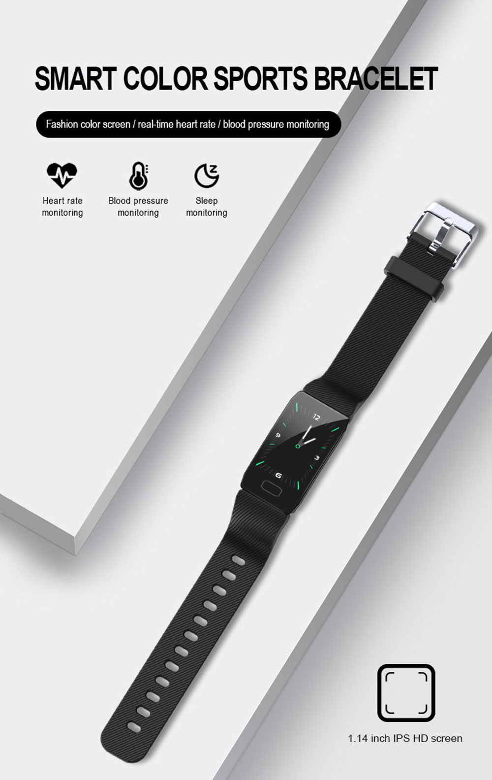 HTB1rjW XHH1gK0jSZFwq6A7aXXa4 Smart Band Blood Pressure Q1 Heart Rate Monitor Fitness Tracker Smart Watch Fitness Bracelet Waterproof Weather Display Women