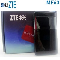 Unlocked Used ZTE MF63 HSPA+ 21.6Mbps 3G Wireless Router 3G UMTS Mobile Pocket WIFI Broadband 3G SIM Card Mifi Router PK MF65