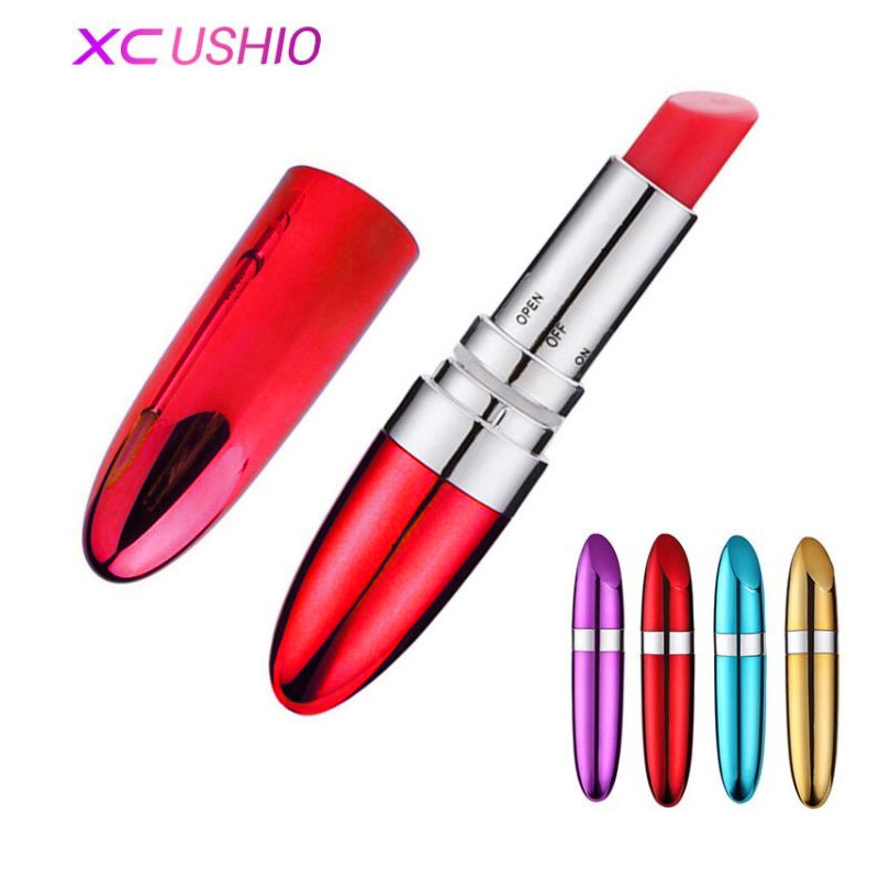 New Portable Bullet Vibrator Lipstick Erotic Toys Clitoris Stimulator Sex Dildo Vibrator Sex Toys for Woman Adult Products diamond clutch crystal bag champagne flower wedding women evening bag sparkly ladies party purse pochette banquet prom bag sc282